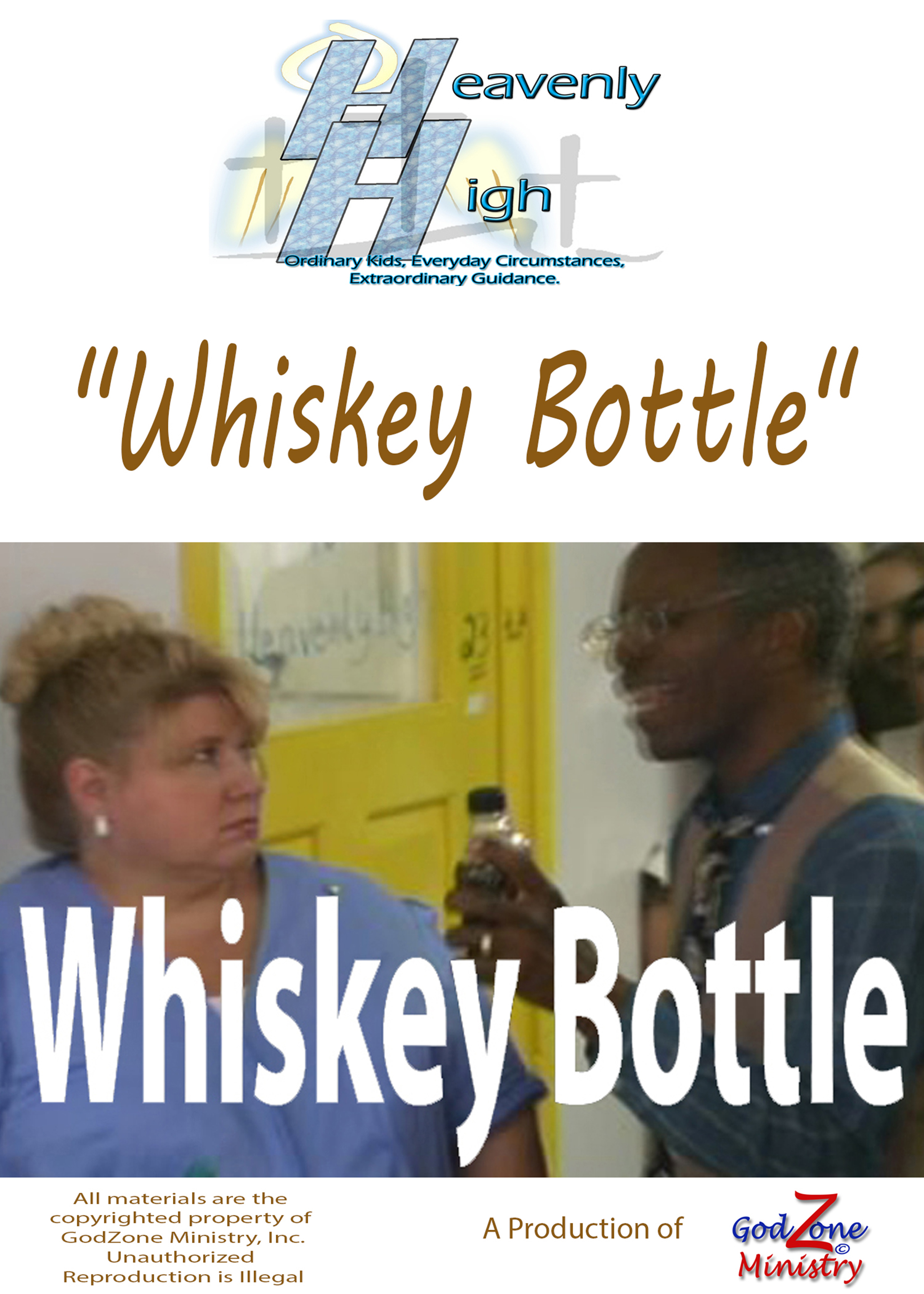 Whiskey Bottle HH 72rez